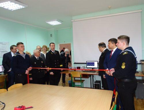 Открылись две новые лаборатории: электро-навигационных приборов и радиотехники, а также судовой электроники