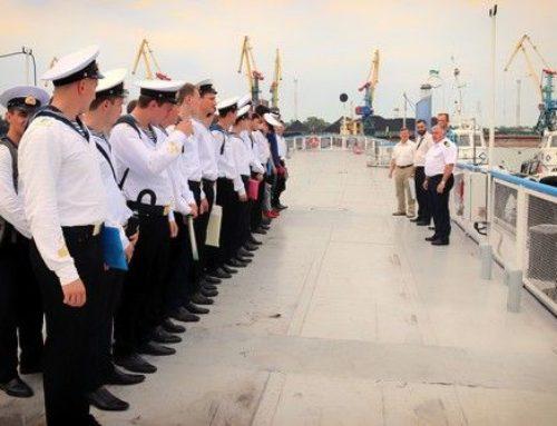 Ізмаїльський порт прийняв курсантів Дунайського інституту на практику