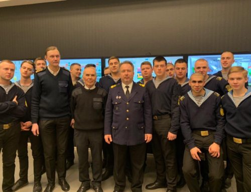 Курсанти четвертого курсу  проходять практичну підготовку в місті Одеса