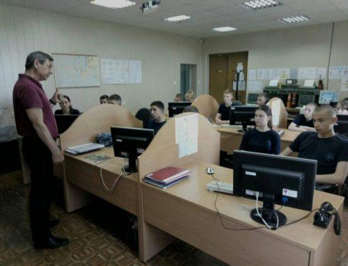 В ДІНУ ОМА ліцеїсти Ізмаїльського Військово – морського ліцею пройшли практичні заняття