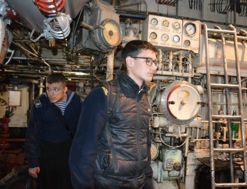 Экскурсия для курсантов Дунайского института НУ «ОМА» на БТОФ