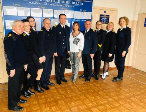 Дунайский інститут приймав гостей – представників Азовського морського інституту